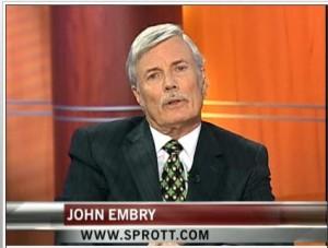 John Embry Prévisions Or Argent