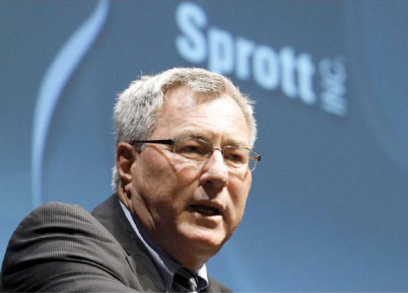 Eric Sprott Or