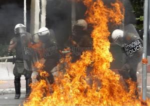 Grece-Manifestations