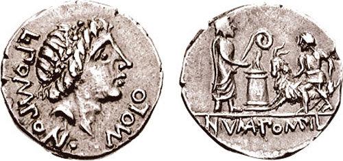 Denarius-Romain