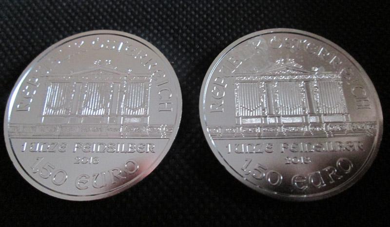 argent 1 once Philarmonique