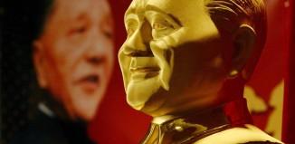 statue de Mao en or