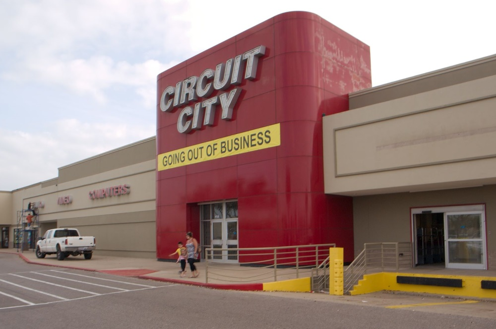 faillite circuit city usa