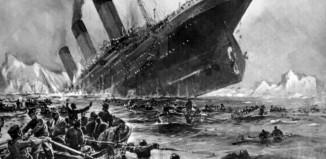 Le Titanic coule