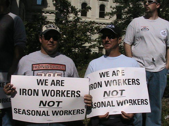 travailleurs américains