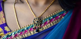 collier en or en Inde