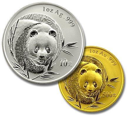 Pièce d'or et pièce d'argent