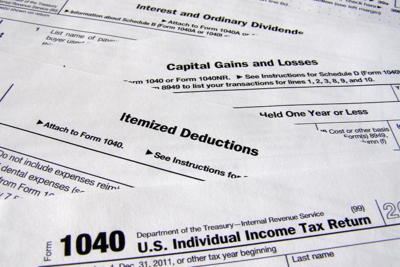 déclaration d'impôt sur le revenu US