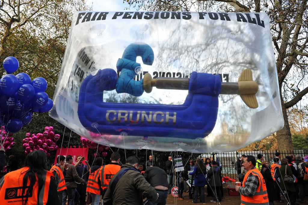 manifestation contre la baisse des retraites