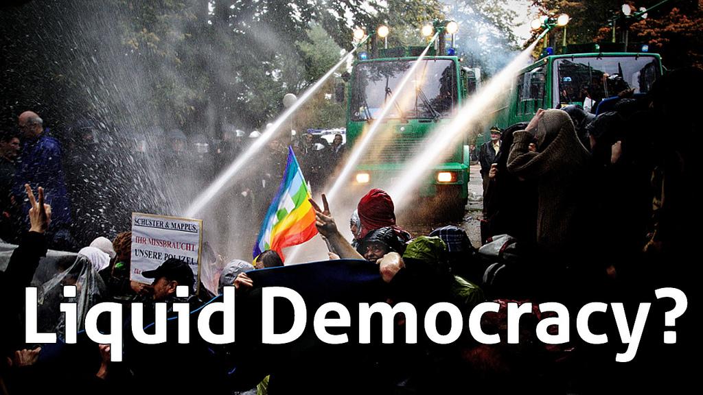 arroser la démocracie