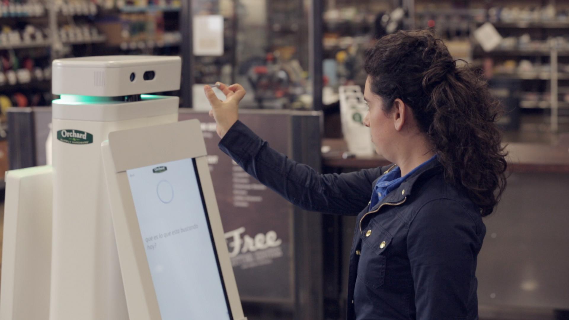 Un robot vendeur : l'OSHbot