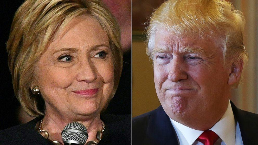 Trump et Clinton