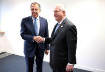 Tillerson et Lavrov