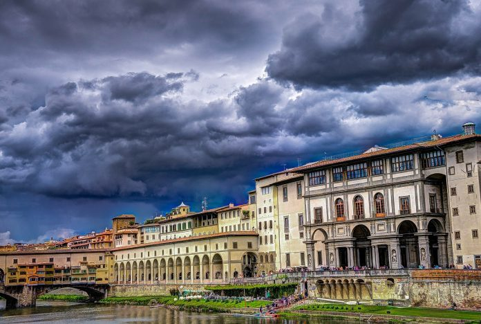 Florence... sous un ciel très gris
