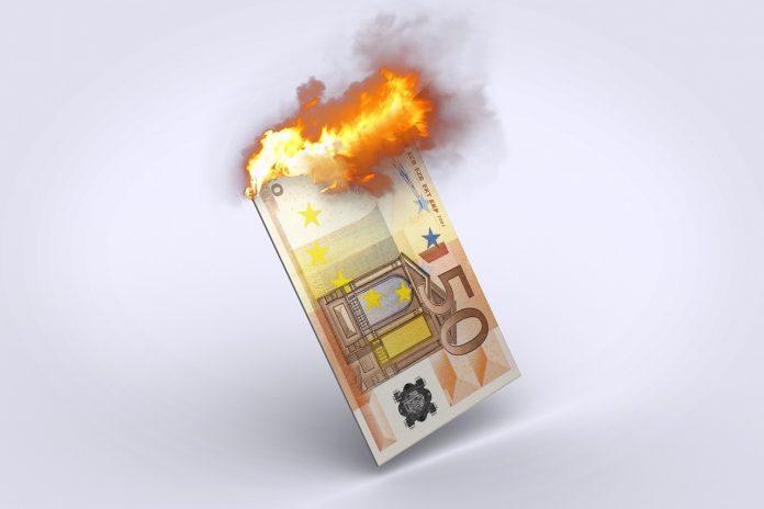 euro qui brule