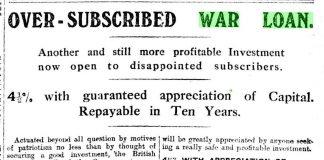 """emprunt de guerre """"sur souscrit"""""""