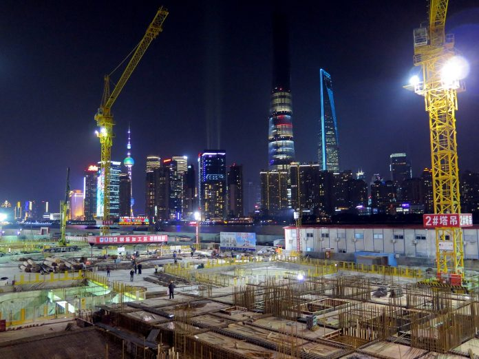 construction en Chine