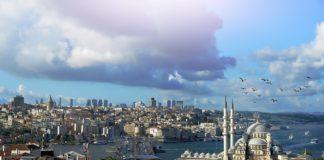 vue d'Istanbul (Turquie)