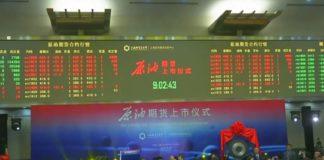contrats à terme pétrole en yuan