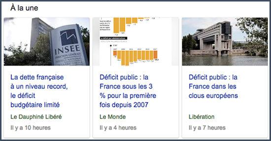 déficit français
