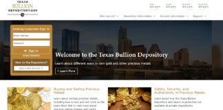 banque or du Texas