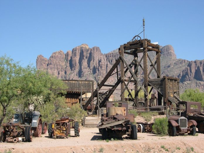 Arizona : une vielle mine d'or