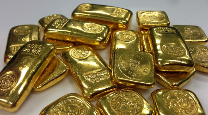 Lingots d'or et lingotins