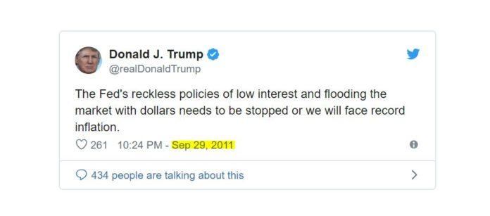 Trump taux