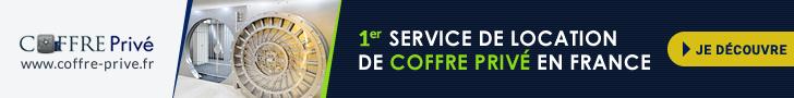 Coffre Privé - 1er service de location de coffre privé en France