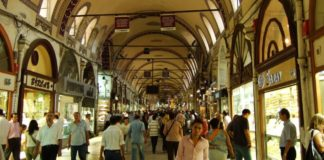 Grand bazar d'Istanbul, or
