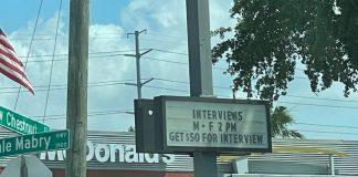 difficultés d'embauche aux USA